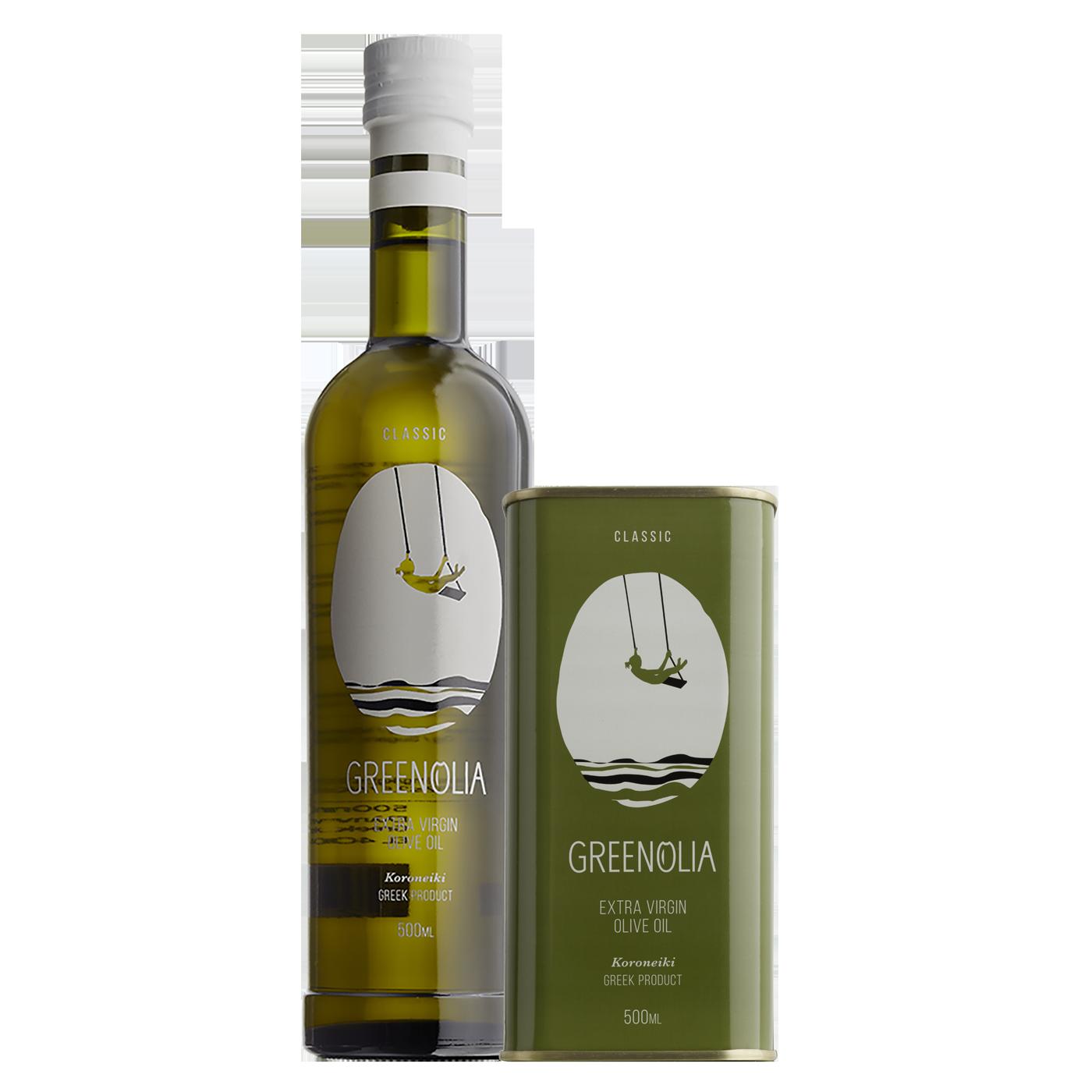 Διακρίσεις Προϊόντα Ελαιολάδου Greenolia-Classic 500ml