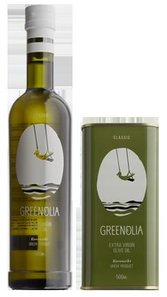 Classic αγνό Ελαιόλαδο - Classic Virgin Olive Oil Greenolia Greenolia - 500ml