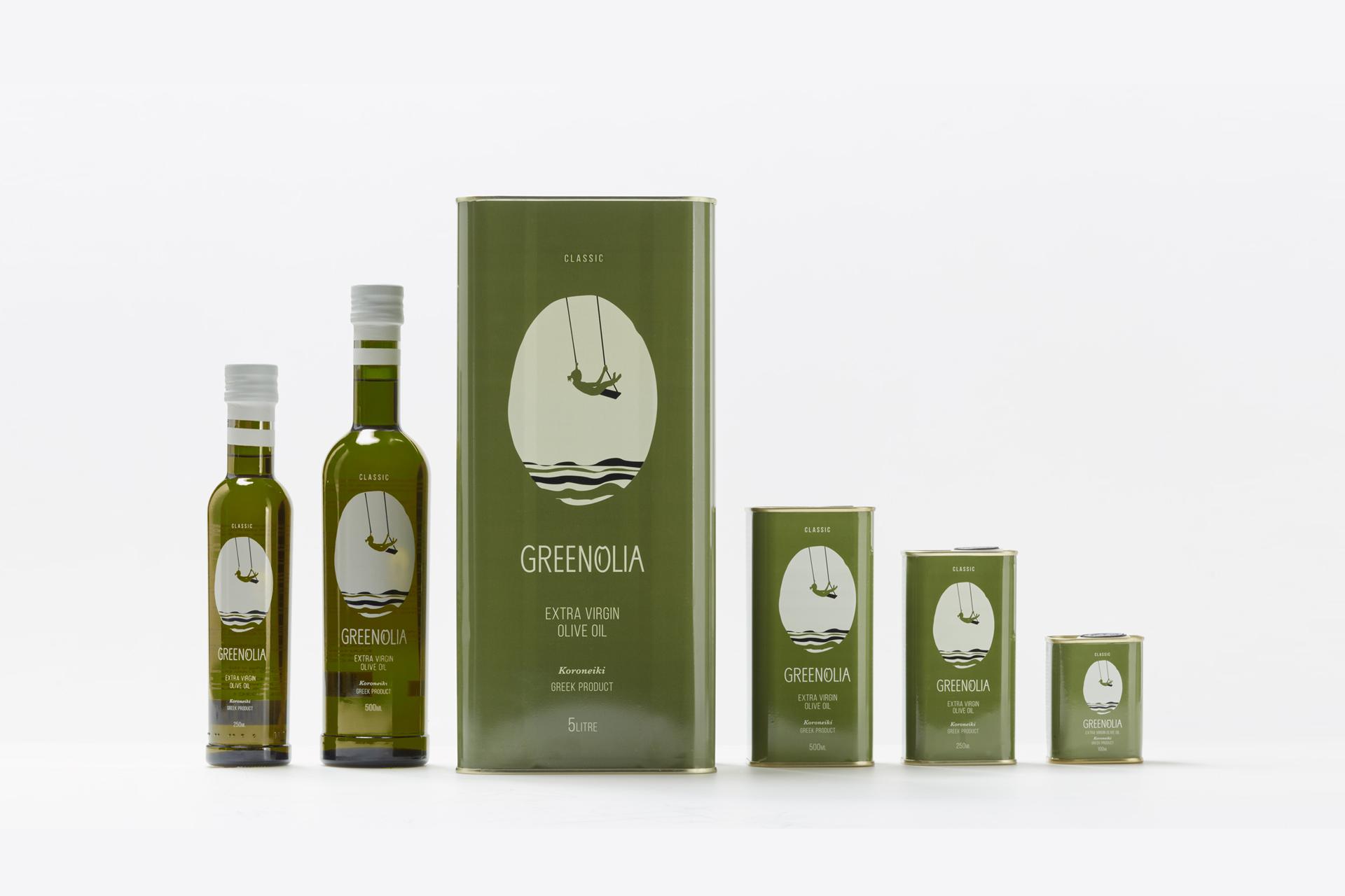 Classic αγνό Ελαιόλαδο Greenolia - ολα