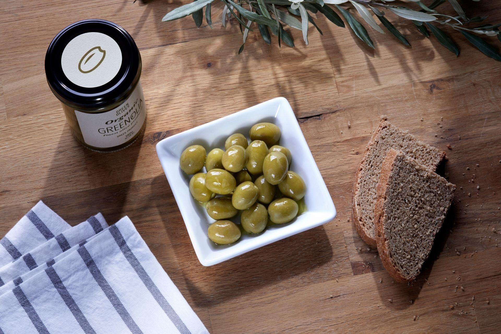 Πράσινη κονσερβολιά - Green olives | Green Conservolia - Προϊόντα - ελιες