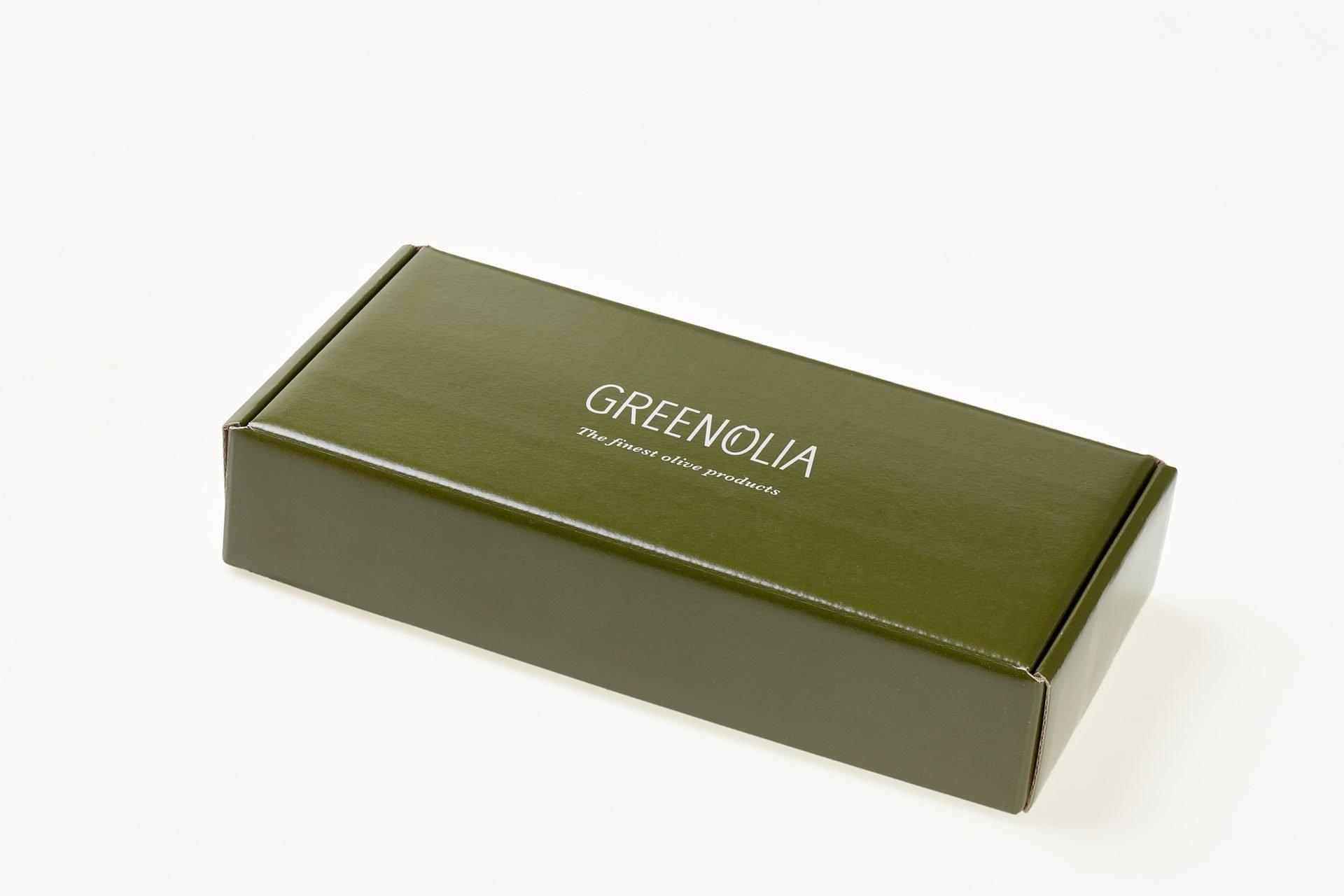 Χειροποίητα Σαπούνια 100g Greenolia - Κουτί Δώρου - Greenolia-κουτι